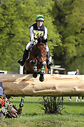Danielle Dunn on Grandslam during the International Horse Trials at Chatsworth, Bakewell, United Kingdom on 13 May 2018. Picture by George Franks.