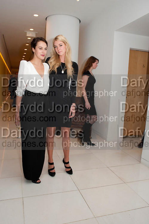 JESSICA BROWN FINDLAY;; VANESS KIRBY,; ;  English National Ballet's party before performance of the ' The Nutcracker. St. Martin's Lane Hotel. London 14 December 2011.