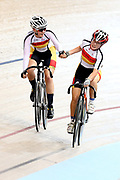 Tyla Green and Jennifer Brown U19 and WE madison during the 2019 Vantage Elite and U19 Track Cycling National Championships at the Avantidrome in Cambridge, New Zealand on Sunday, 10 February 2019. ( Mandatory Photo Credit: Dianne Manson )