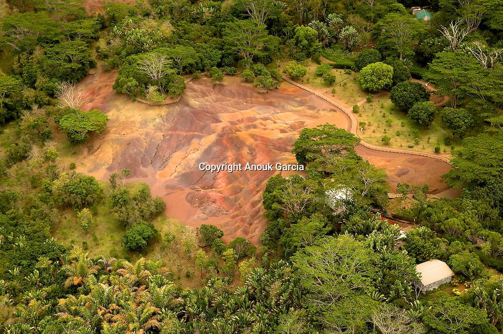Lands of the seven color. Chamarel | Les terres des sept couleurs à chamarel