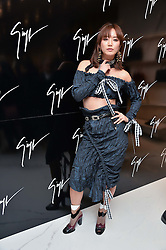 BETTY BACHZ at the launch of the new Giusepe Zanotti store in Conduit Street, London on 26th October 2016.