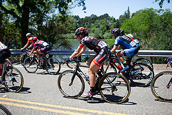 Chloe Dygert (USA) of Twenty20 p/b SHO-AIR rides mid-pack during Stage 1 of the Amgen Tour of California - a 124 km road race, starting and finishing in Elk Grove on May 17, 2018, in California, United States. (Photo by Balint Hamvas/Velofocus.com)