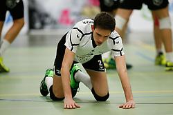 20170225 NED: Eredivisie, Valei Volleybal Prins - Coolen - Alterno: Ede<br />Jesse Schuitemaker of Coolen Alterno<br />©2017-FotoHoogendoorn.nl / Pim Waslander