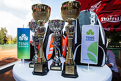 PRO AM tennis tournament event by Tennis Slovenia, on September 20th, 2018 in Tennis center Tivoli, Ljubljana, Slovenia. Photo Credit Grega Valancic