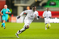 Dennis APPIAH  - 25.01.2015 - Rennes / Caen  - 22eme journee de Ligue1<br /> Photo : Vincent Michel / Icon Sport *** Local Caption ***
