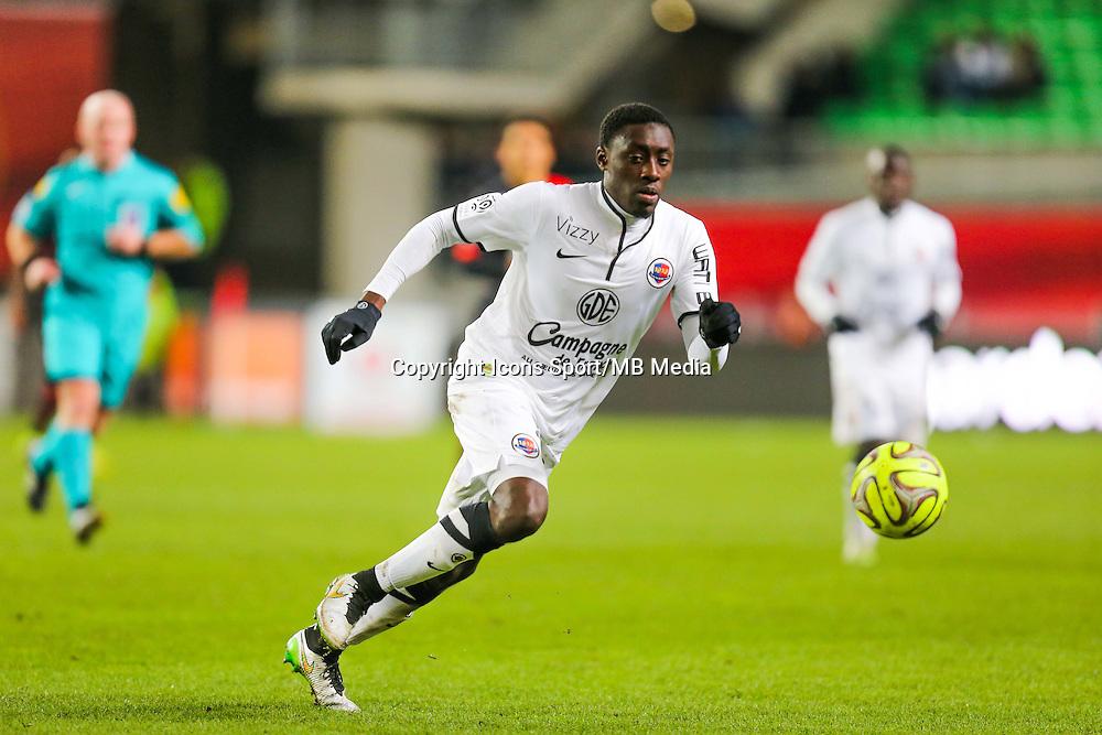 Dennis APPIAH  - 25.01.2015 - Rennes / Caen  - 22eme journee de Ligue1<br /> Photo : Vincent Michel / Icon Sport *** Local Caption ***