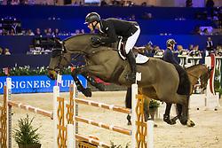 Whitaker William, (GBR), Fandango<br /> Jumping Amsterdam 2018<br /> © Sharon Vandeput<br /> 26/01/18