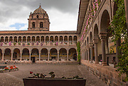 Baroque style; Cathedral of Santo Domingo; Cusco; Cusco Cathedral; Peru; UNESCO World Heritage Site