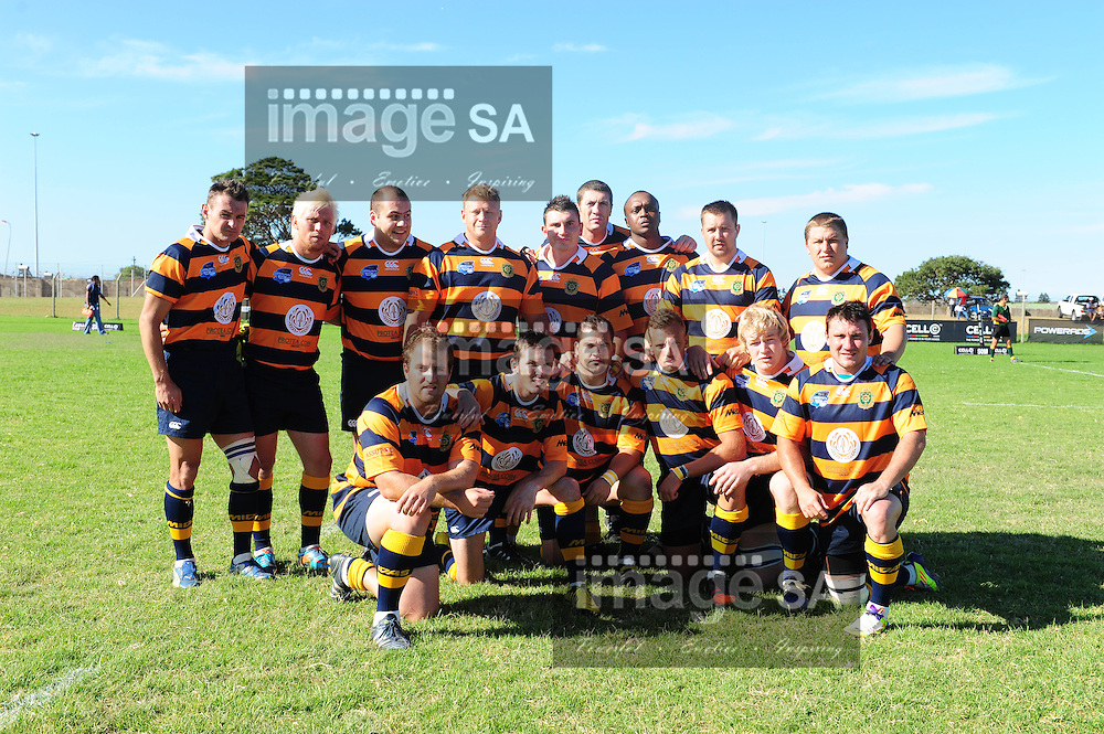PORT ELIZABETH, SOUTH AFRICA - SATURDAY MARCH 2 2013, Team Photo during match 20 of the Cell C Community Cup rugby match between African Bombers and Pretoria Police held at the Zwide stadium..Photo by Iky Plakonouris/ImageSA