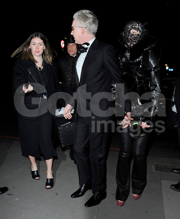 Philip Treacy and Harriet Verney attend the Alexander McQueen: Savage Beauty - press view at the Victoria &amp; Albert Museum in London, UK. 12/03/2015<br /> BYLINE MUST READ : GOTCHAIMAGES.COM<br /> <br /> Copyright by &copy; Gotcha Images Ltd. All rights reserved.<br /> Usage of this image is conditional upon the acceptance <br /> of Gotcha Images Ltd, terms and conditions available at<br /> www.gotchaimages.com