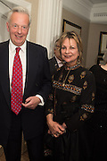 VISCOUNT WINDSOR; VISCOUNTESS WINDSOR, An evening of entertainment at St James Court in support of the redevelopment of St Fagans National History Museum. In the spirit of the court of Llywelyn the Great . St. James Court Hotel. London. 17 September 2015<br />  <br /> Noson o adloniant yn St James Court i gefnogi ail-ddatblygiad Sain Ffagan Amgueddfa Werin Cymru