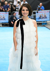 Charlotte Riley attending the Swimming with Men premiere held at Curzon Mayfair, London.