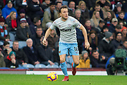 West Ham United midfielder Mark Noble (16) during the Premier League match between Burnley and West Ham United at Turf Moor, Burnley, England on 30 December 2018.