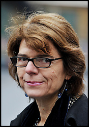 Vicky Pryce  arrives at Southwark Crown Court. Chris Huhne's ex-wife Vicky Pryce is on trial over a speeding offence a decade ago. Pryce denies perverting the course of justice by taking Huhne's points in March 2003. He dramatically changed his plea to guilty, then resigned as an MP, at the start of their joint trial, Southwark Crown Court, London, Tuesday February 12, 2013. Photo By Andrew Parsons / i-Images