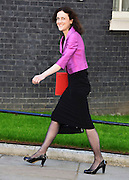 &copy; Licensed to London News Pictures. 04/06/2013. Westminster, UK. Theresa Villiers, Conservative MP, Secretary of State for Northern Ireland<br /> .  MP's on Downing Street today 4th June 2013. Photo credit : Stephen Simpson/LNP