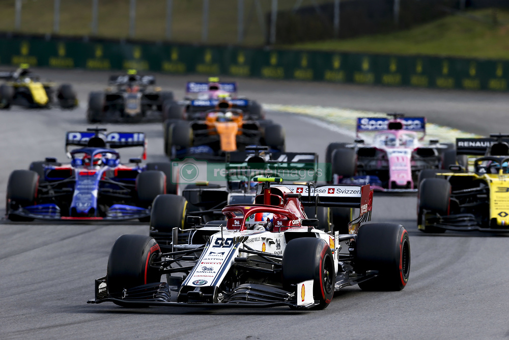 November 17, 2019, Sao Paulo, Brazil: Motorsports: FIA Formula One World Championship 2019, Grand Prix of Brazil, . #99 Antonio Giovinazzi (ITA, Alfa Romeo Racing) (Credit Image: © Hoch Zwei via ZUMA Wire)