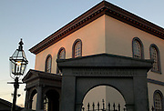 USA, Newport, RI - Touro Synagogue is the oldest in the United States. Located on Touro street in colonial Newport.