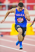 Tyson Invitational Track and Field meet in Fayetteville Arkansas with teams from Akron, Tulsa, Houston Univerisities