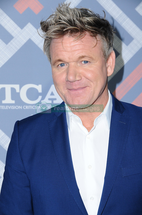 08 August  2017 - West Hollywood, California - Gordon Ramsey.   2017 FOX Summer TCA held at SoHo House in West Hollywood. Photo Credit: Birdie Thompson/AdMedia *** Please Use Credit from Credit Field ***