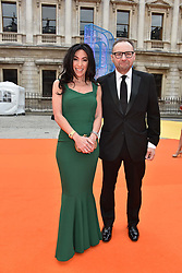 Jonathan Shalit and Katrina Shalit at the Royal Academy of Arts Summer Exhibition Preview Party 2017, Burlington House, London England. 7 June 2017.