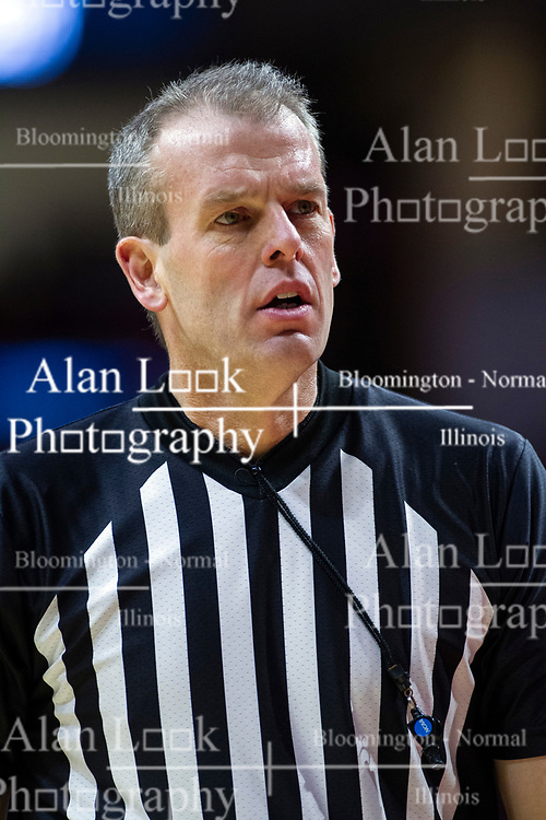 NORMAL, IL - January 19: Randy Heimerman during a college basketball game between the ISU Redbirds and the Loyola University Chicago Ramblers on January 19 2020 at Redbird Arena in Normal, IL. (Photo by Alan Look)