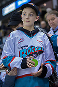 KELOWNA, CANADA - FEBRUARY 17:  Canadian Mental Health and Dental Solutions at the Kelowna Rockets game on February 17, 2018 at Prospera Place in Kelowna, British Columbia, Canada.  (Photo By Cindy Rogers/Nyasa Photography,  *** Local Caption ***