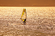 Sunset, Windsurfing, Kanaha Beach Park, Maui, Hawaii
