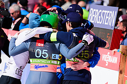 March 23, 2019 - Planica, Slovenia - Team Slovenia and Timi Zajc of Slovenia in action during the team competition at Planica FIS Ski Jumping World Cup finals  on March 23, 2019 in Planica, Slovenia. (Credit Image: © Rok Rakun/Pacific Press via ZUMA Wire)