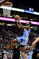 Jan 28, 2017; Phoenix, AZ, USA; Denver Nuggets guard Will Barton (5) drives to the basket against the Phoenix Suns in the first half of the NBA game at Talking Stick Resort Arena. Mandatory Credit: Jennifer Stewart-USA TODAY Sports