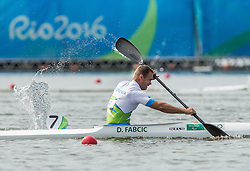 Dejan Fabcic of Slovenia competes in Canoe Sprint Men's KL2 Final during Day 8 of the Rio 2016 Summer Paralympics Games on September 15, 2016 in Lagoa Canoe Stadium, Rio de Janeiro, Brazil. Photo by Vid Ponikvar / Sportida