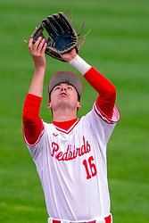 NORMAL, IL - May 01: Derek Parola during a college baseball game between the ISU Redbirds and the Indiana State Sycamores on May 01 2019 at Duffy Bass Field in Normal, IL. (Photo by Alan Look)