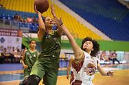Marqueses y Subairvor en el inicio de la liga Superior de Baloncesto en el Gimnasio Adolofo Pineda, San Salvador, El Salvador. Photo: Edgar ROMERO/Imagenes Libres.