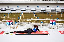 Urska Poje (SLO) during Single Mixed Relay at day 1 of IBU Biathlon World Cup 2018/19 Pokljuka, on December 2, 2018 in Rudno polje, Pokljuka, Pokljuka, Slovenia. Photo by Ziga Zupan / Sportida