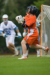 05 April 2008: Virginia Cavaliers midfielder Peter Lamade (39) during a 11-12 OT win over the North Carolina Tar Heels on Fetzer Field in Chapel Hill, NC.