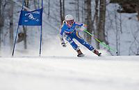 J1 J2 alpine skiing giant slalom Macomber Cup at Dartmouth Skiway January 22, 2012.