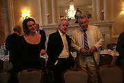 Caroline Michel, Rodney Bewes and Martin Bell, Oldie of the Year Awards. Simpsons-in-the-Strand. London. 13 March 2007.  -DO NOT ARCHIVE-© Copyright Photograph by Dafydd Jones. 248 Clapham Rd. London SW9 0PZ. Tel 0207 820 0771. www.dafjones.com.