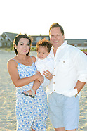 Volgraf Family on the Beach in Cape May, New Jersey