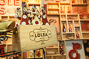 The Sangria Lolea booth at the Fancy Food show. They always have a beautiful display going on
