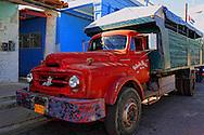 Truck in Consolación del Sur, Pinar del Rio, Cuba.