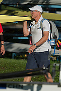 Aiguebelette, FRANCE, Paul THOMPSON,     2015 FISA World Rowing Championships, <br /> Venue, Lake Aiguebelette - Savoie. <br /> Sunday  30/08/2015  [Mandatory Credit. Peter SPURRIER/Intersport Images].