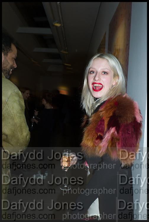 HARRIET VERNEY, Julia Peyton-Jones, Hans Ulrich Obrist and Coach host the Serpentine Future Contemporaries Party. Serpentine Sackler Gallery. Kensington Gdns. London. 21 February 2015