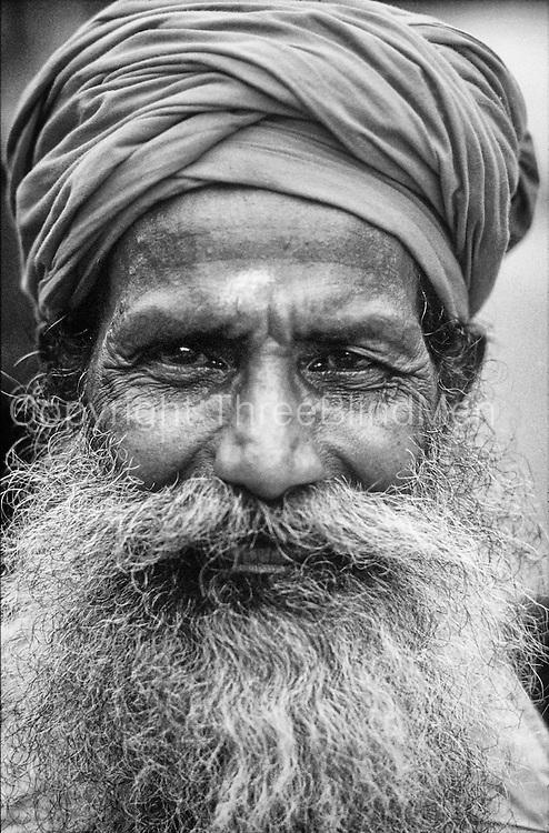 A swami and a fine beard
