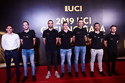 CCC Team at UCI Cycling Gala 2019 in Guilin, China on October 22, 2019. Photo by Sean Robinson/velofocus.com