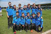 FGR U'12's ballboys during the Vanarama National League Play Off second leg match between Forest Green Rovers and Dagenham and Redbridge at the New Lawn, Forest Green, United Kingdom on 7 May 2017. Photo by Shane Healey.