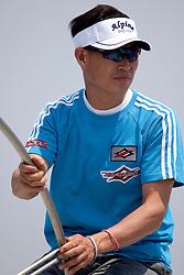 Korean skipper Byeong Ki Park training for the Korea Match Cup 2009, Gyeonggi-do, Korea. 1 June 2009.