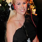 NLD/Amsterdam/20101209 - VIP avond Miljonairfair 2010, Earphonegirl Eline