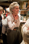 DIANA HARDCASTLE, Press night for Edwards Albee's A Delicate Balance at the Almeida Theatre. London. 12 May 2011. <br /> <br />  , -DO NOT ARCHIVE-© Copyright Photograph by Dafydd Jones. 248 Clapham Rd. London SW9 0PZ. Tel 0207 820 0771. www.dafjones.com.