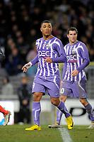 FOOTBALL - FRENCH CHAMPIONSHIP 2009/2010 - L1 - TOULOUSE FC v OLYMPIQUE LYONNAIS - 7/02/2010 - PHOTO JEAN MARIE HERVIO / DPPI - KAZIM KAZIM (TFC)