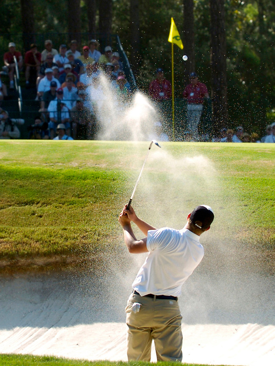 PINEHURST, NORTH CAROLINA - JUNE 17, 2005<br /> Ryan MOORE during the 2nd Round of the 2005 U.S. Open Championship, held at Pinehurst No.2 in the Village of Pinehurst, North Carolina.