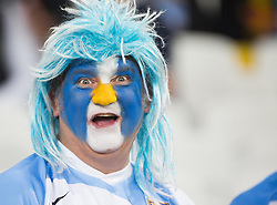 Client: LLDC. Argentina Fan - Rugby World Cup. Photo: David Poultney